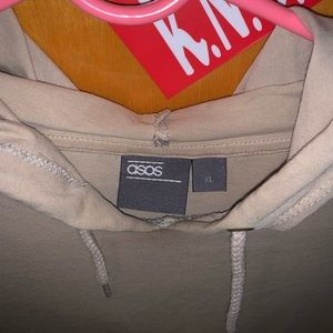 ASOS Sweaters - Asos men's hoodie with zippers on the side XL
